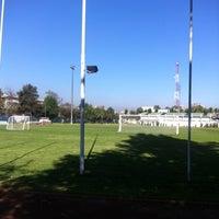 Photo taken at Estadio chilectra CAM by Eduardo P. on 4/30/2012