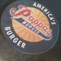 Photo taken at Pappas Burger by Nonae V. on 9/1/2012