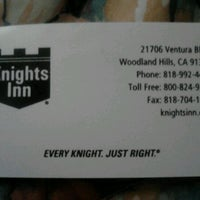 Photo taken at Knights Inn by Colin B. on 6/23/2012