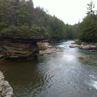 Photo taken at Swallow Falls State Park by Steven M. on 4/28/2012