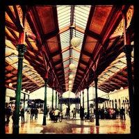 Photo taken at Prague Masaryk Railway Station by Oliver B. on 5/23/2012