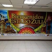 Photo taken at Aeropuerto Internacional La Chinita: Terminal Nacional by Ronald V. on 7/21/2012