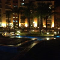Photo taken at Thermas Olímpia Resort by Gustavo S. on 8/12/2012