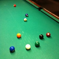 Photo taken at SoHo Billiards by Jason H. on 7/28/2012