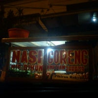 Photo taken at Nasi Goreng Pak Ikin PR by m a y a on 5/1/2012