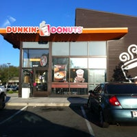 Photo taken at Dunkin Donuts by Ashlee C. on 4/6/2012