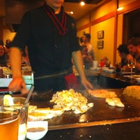 Photo taken at Nakato Japanese Restaurant by Chris M. on 4/22/2012