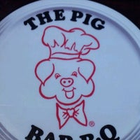 Photo taken at The Pig  Bar-B-Que by Andrew W. on 5/1/2012