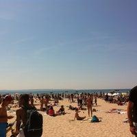 Photo taken at Wasaga Beach by Liza A. on 5/19/2012