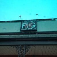 Photo taken at Polka Dot Pig Gastro Pub by Chris B. on 4/18/2012