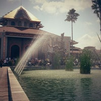Photo taken at Masjid Kampus UGM by superdogye 🐶 on 8/31/2012