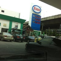 Photo taken at Esso by Andrew W. on 8/25/2012