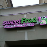 Photo taken at Sweet Frog by Russ M. on 6/16/2012
