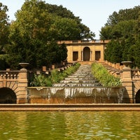 Photo taken at Meridian Hill Park by Trey B. on 8/31/2012