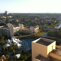 Photo taken at Hilton Orlando Buena Vista Palace Disney Springs Area by Steven G. on 2/11/2012