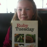 Photo taken at Ruby Tuesday by Kenneth V. on 2/11/2012