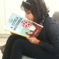 Photo taken at Biblioteca by Adilson V. on 5/1/2012