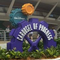 Photo taken at Walt Disney's Carousel of Progress by Chuck N. on 4/22/2012