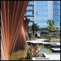 Photo taken at Tanner Springs Park by Nicole A. on 5/6/2012