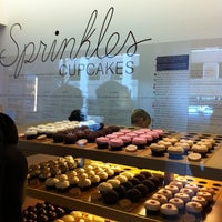 Photo taken at Sprinkles Cupcakes by Camille I. on 2/24/2012