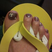 Photo taken at Polished Nail Salon by Kitty on 7/31/2012