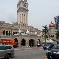 Photo taken at Bangunan Sultan Abdul Samad by Jenol I. on 6/21/2012
