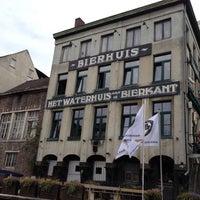 Photo taken at Het Waterhuis aan de Bierkant by Kathleen B. on 8/27/2012