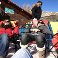 Photo taken at Cafeteria Le Parapente by Pierre C. on 3/2/2012