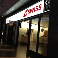 Photo taken at SWISS Business Lounge A by Kityaporn C. on 6/26/2012