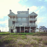 Photo taken at The Waymire Beach House by Maurice P. on 7/8/2012