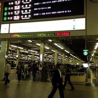 Photo taken at Hankyu Umeda Station (HK01) by oceantree w. on 4/30/2012