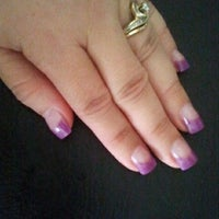Photo taken at Faraona Nails 'n Happy Hair Beauty Salon by Vilma M. on 2/16/2012