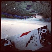 Photo taken at SnowWorld by Ruben v. on 4/9/2012
