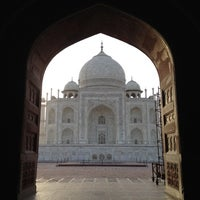 Photo taken at Taj Mahal by Brian C. on 6/3/2012