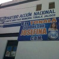 Photo taken at PAN Comité Directivo Municipal by Juan Antonio V. on 5/15/2012
