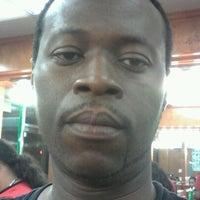 Photo taken at Diamond Cuts Barbershop by Cheavor D. on 7/1/2012