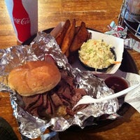 Photo taken at Andy Nelson's Southern Pit Barbecue by Alessandro on 3/24/2012