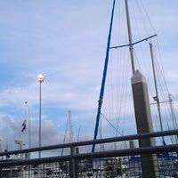 Photo taken at Kemah Bridge by Gary S. on 3/16/2012