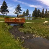 Photo taken at Edgewood Tahoe Golf Course by Karen H. on 5/8/2012