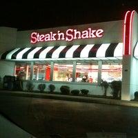 Photo taken at Steak 'n Shake by Jenna R. on 3/7/2012