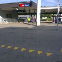 Photo taken at Bahnhof Kloten by Peter A. on 5/14/2012