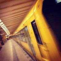 Photo taken at U Weberwiese by Stefan M. on 4/13/2012