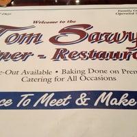 Photo taken at Tom Sawyer Diner by Sue K. on 4/4/2012