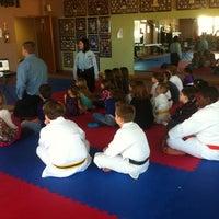 Photo taken at Master Rousseau's Taekwondo, England Airpark by Carol R. on 2/26/2012