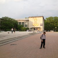 Photo taken at Площадь Юности by Anni S. on 5/23/2012