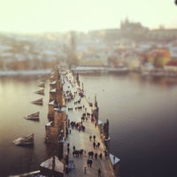Photo taken at Charles Bridge by Brain A. on 2/11/2012
