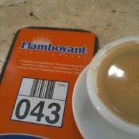 Photo taken at Flamboyant Panificadora by arthur b. on 8/31/2012