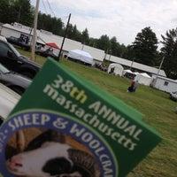 Photo taken at Cummington Fair by Justin D. on 5/26/2012