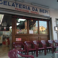 Photo taken at Gelateria da Bepi by Marco P. on 5/9/2012