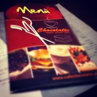 Chocolatte Cafe Menu